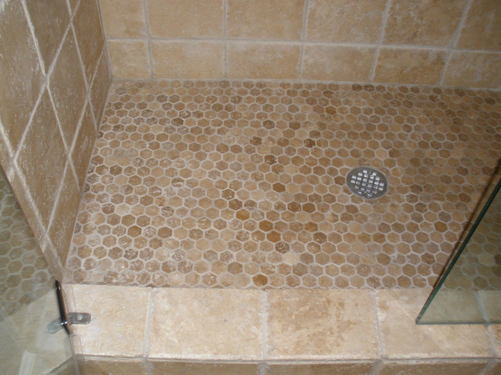 Floor Shower Floor Tile With Design In Bathroom And Best Tile