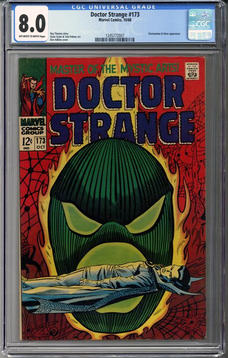 Doctor Strange #173 CGC 8 0 | STEPHEN VINCENT STRANGE