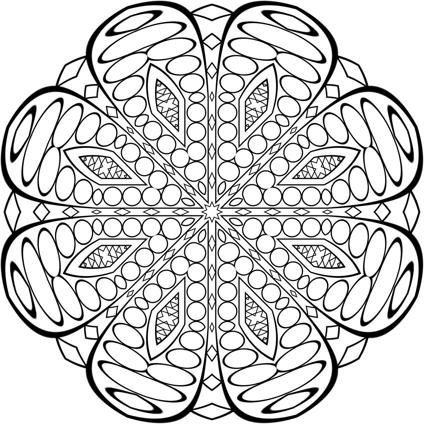 сова раскраска антистресс - Поиск в Google | Mandala ...