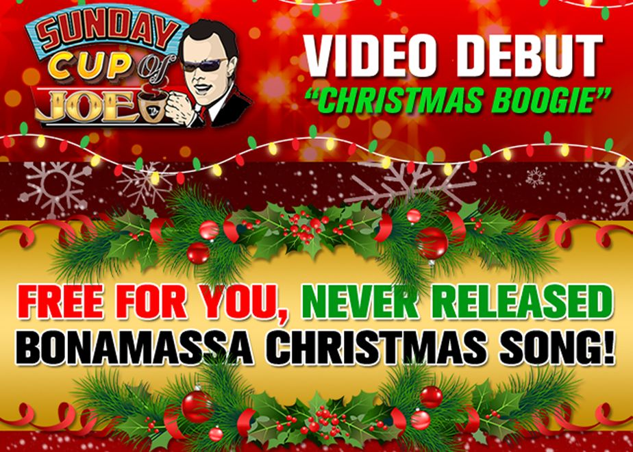 Chant Noel Gratuit Nouvelle chanson de Noël gratuit Boogie Noël de Joe Bonamassa