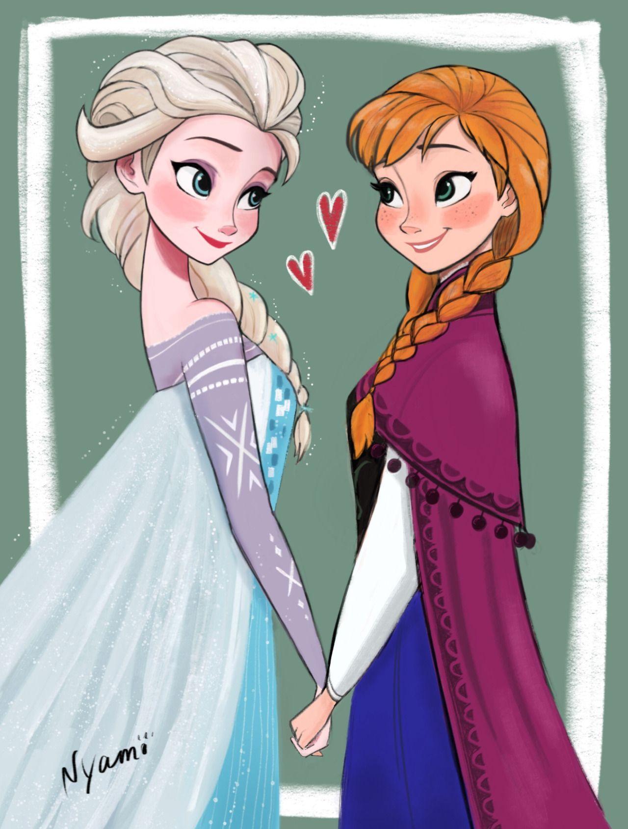 Elsa and Anna  bbc0fd5ad3