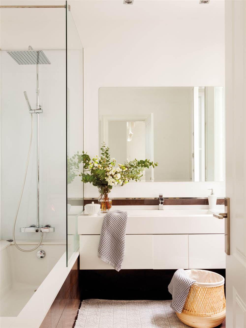 Ideas Low Cost Para Reformar El Ba O Nuevo Revestimiento  # Muebles Low Cost