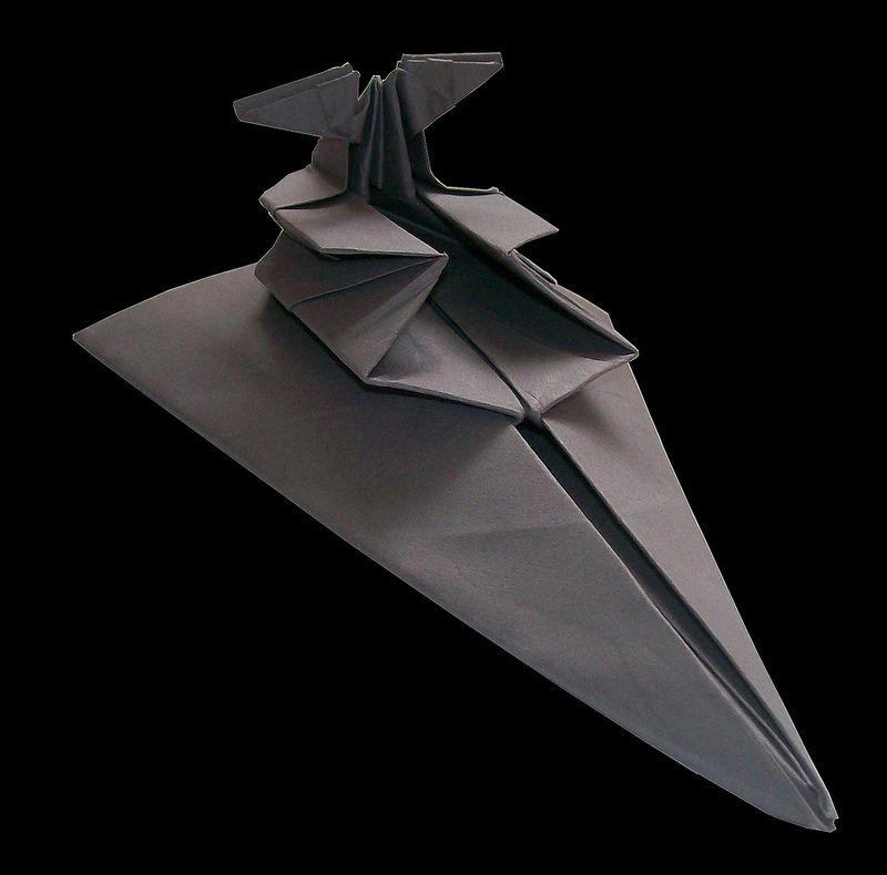 ianbrooks: Star Warsigami by Martin Hunt  ... - Super Star Destroyer