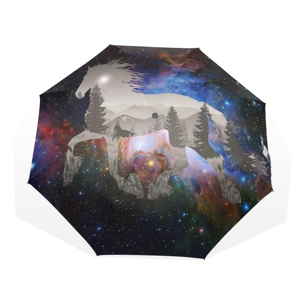 1cc0759523c2 Magic Sky Horse Umbrella   Gift Umbrellas   Sky, Rain, Horses