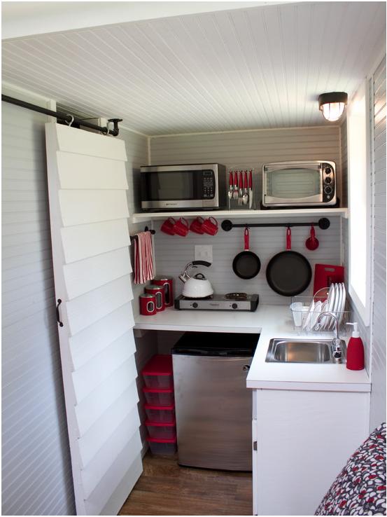 tiny kitchen- HOUZZ   shippinContainer$$$   Pinterest   Houzz ...