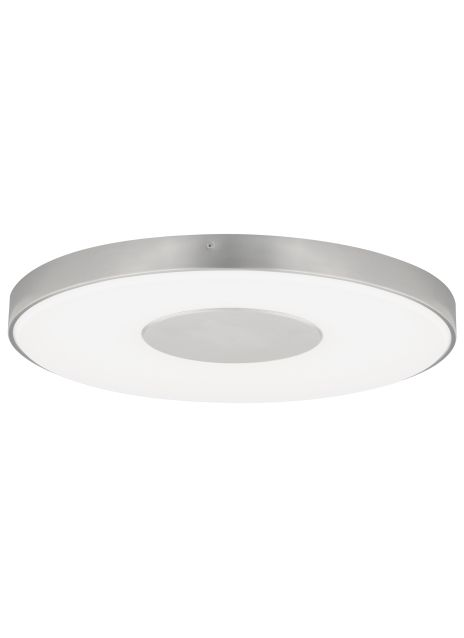 Modern minimalist design exudes from the versatile and efficient Wynter LED flush mount ceiling light from Tech Lighting. A precisely executed acrylic shade provides an incredibly smooth wash of light as it is intentionally interrupted by negative space in the center of the fixture for visual contrast. Three sizes offer designers the opportunity to address scale in spaces that demand larger solutions.