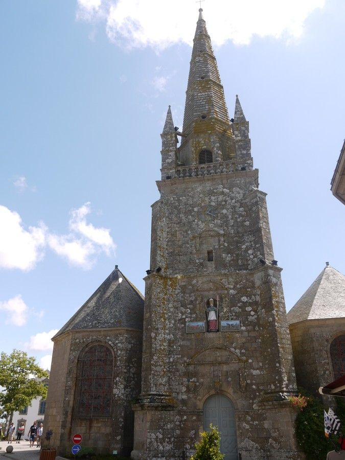 Église Saint-Cornély.Carnac. Bretagne