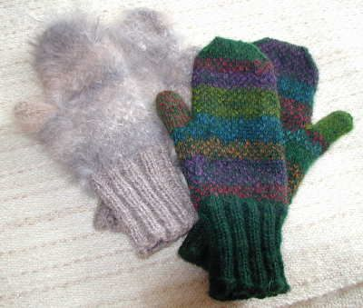 Mitten patterns and directions for creating your own ...