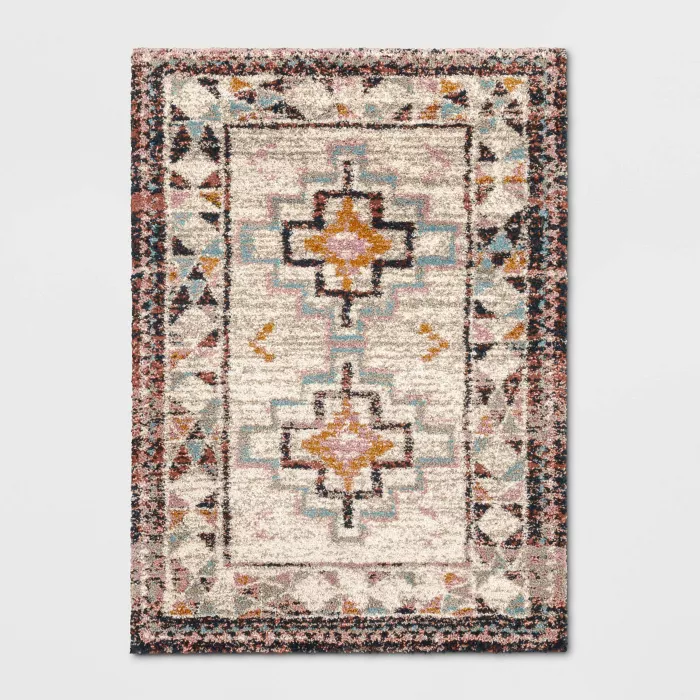 Indoor Geometric Shag Woven Rug Opalhouse Target In 2020
