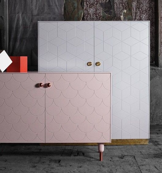 Ikea Furniture Upgraded With Fronts, Knobs And Legs. By