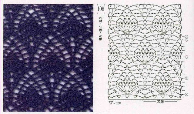 Crochet Knitting Handicraft: Pineapples