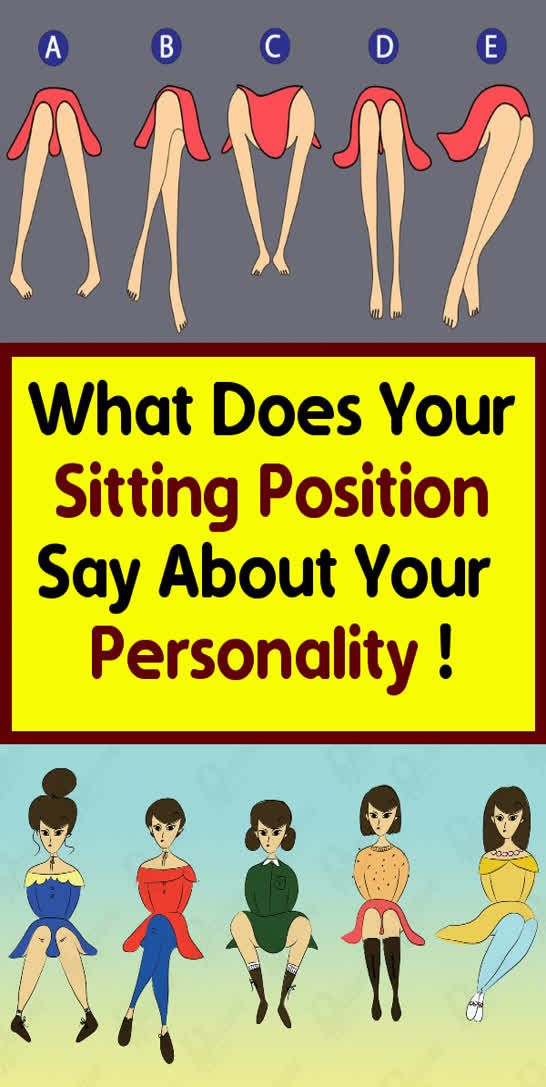 What Does Your Sitting Position Say About Your Personality !