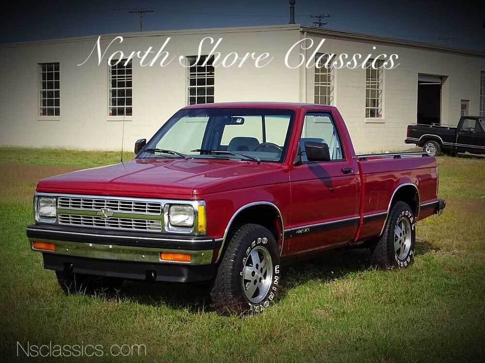 Used 1992 Chevrolet S10 1 Owner Truck Shortbed 4x4 4 3 L V6 85k Actual Miles From North Carolina Mundelein Il Chevy S10 Chevrolet S10 Truck