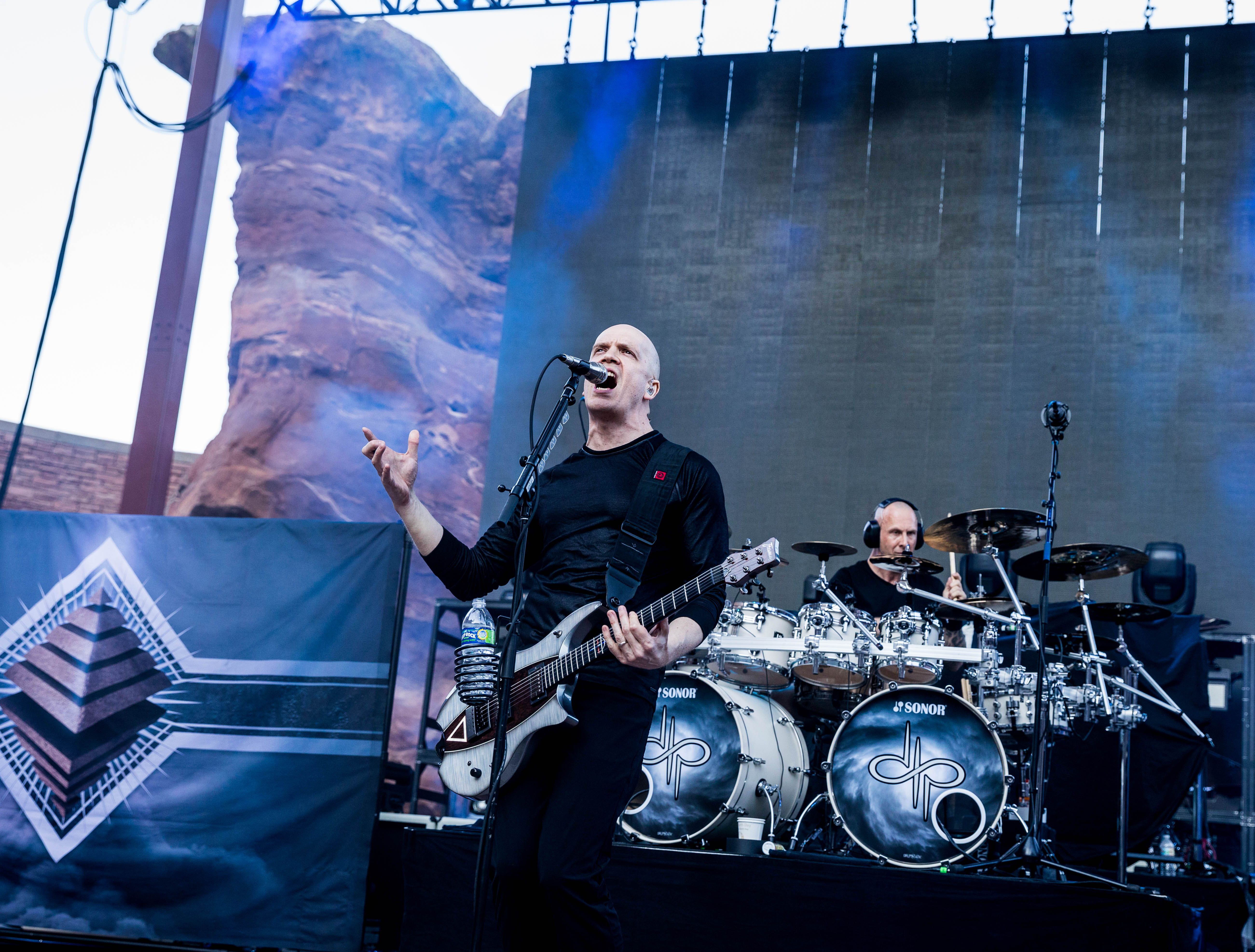Witness Opeth S Monumental Performance At Red Rocks With Gojira Devin Townsend Project Red Rock Amphitheatre Rock Red