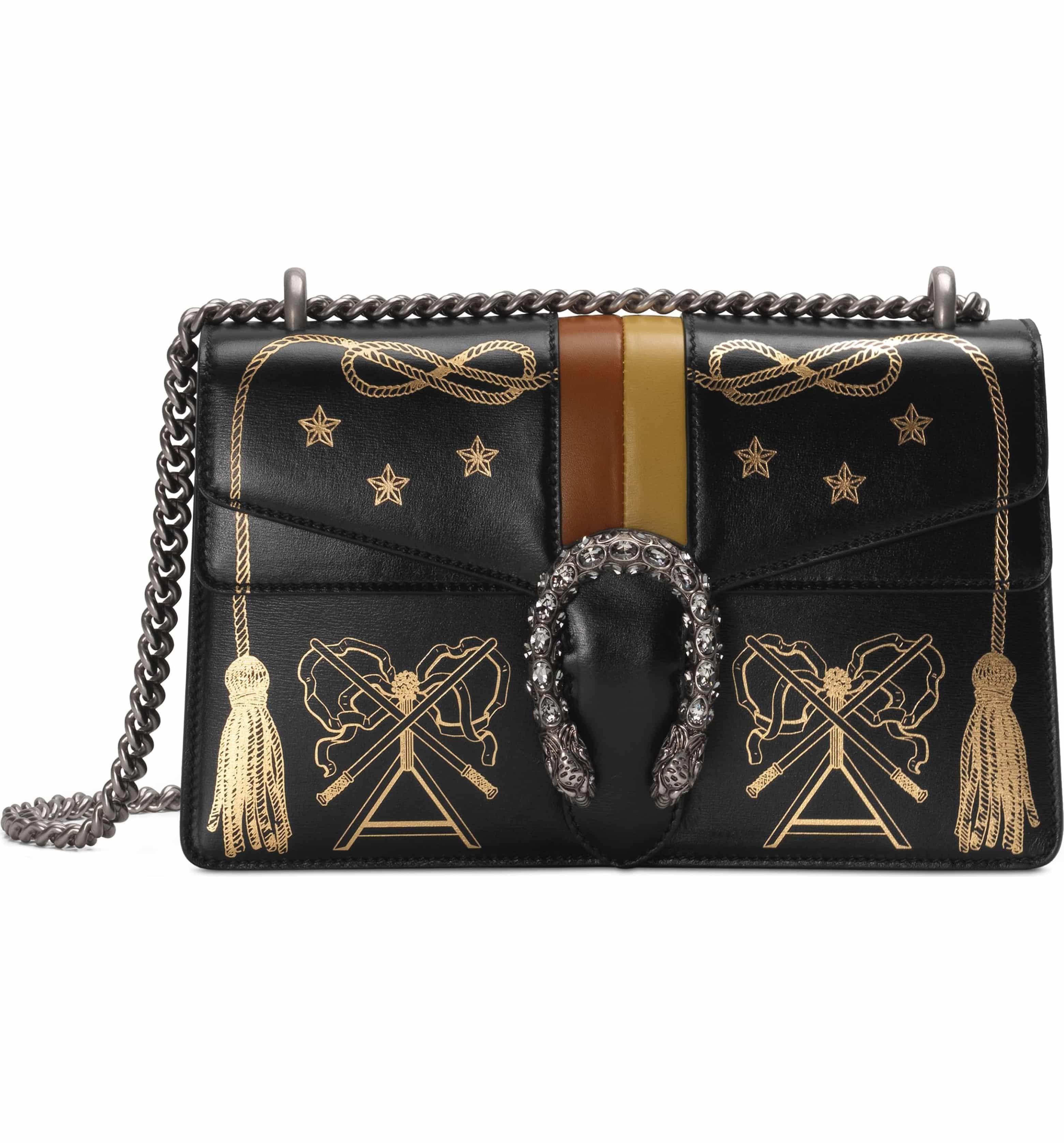 ec430189c8a Small Dionysus Leather Shoulder Bag