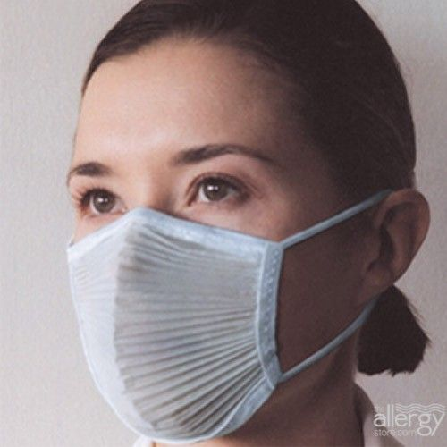 Qmask And Breathing In Mask Pollen Dust - Allergy 2020 Mask