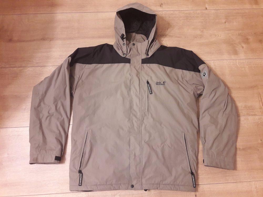 Men JACK WOLFSKIN URBAN OUTDOOR Jacket Coat Parka Hooded XL