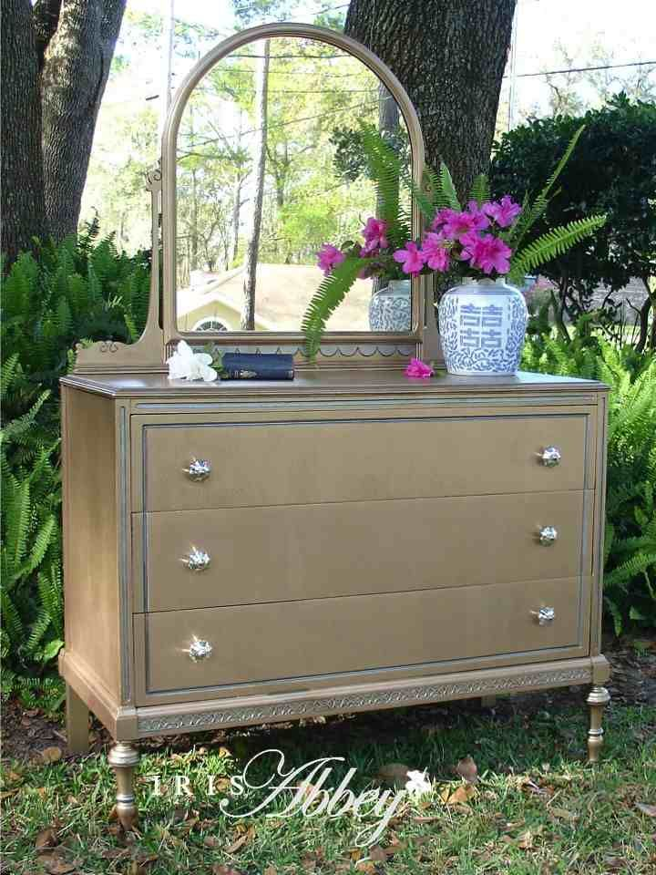 Create Shimmer And Style With Modern Masters Silver Metallic Paint Metallic Paint And Dresser