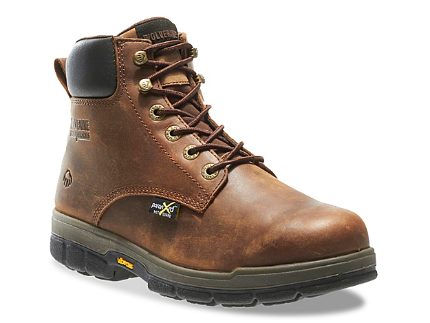 Men Gallatin Steel Toe Work Boot -Dark Brown