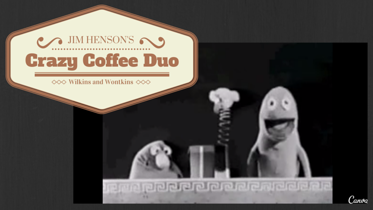 Jim Henson's wild early coffee commercials [video] Holy