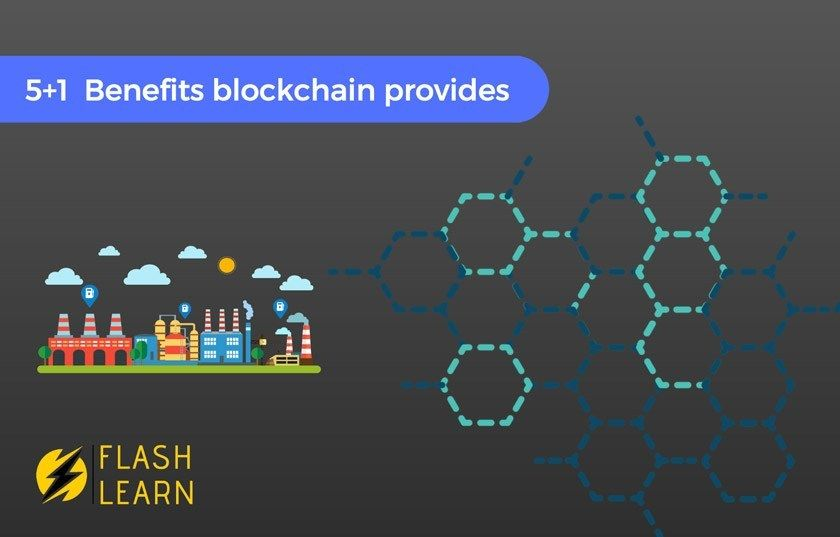 Top 5 1 Benefits Of Blockchain Technology Flash Learn Blockchain Blockchain Technology Cisco Networking