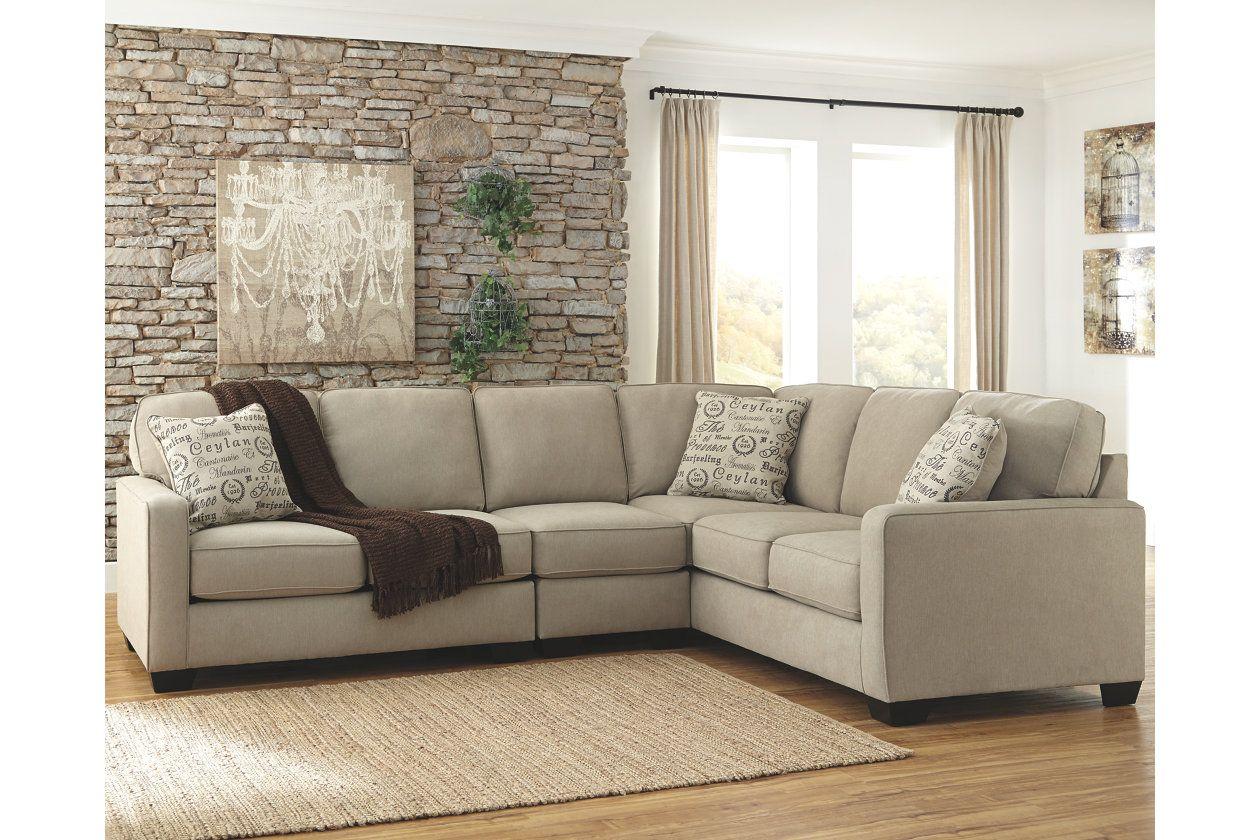 Best Alenya 3 Piece Sectional Quartz 3 Piece Sectional Sofa 640 x 480