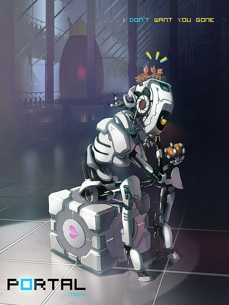 I Don T Think Glados Can Do That Human Shape But I Do Kind Of Like