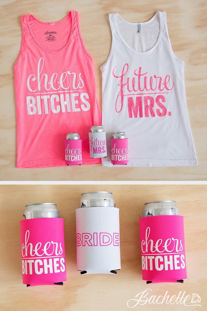 Glitter Bachelorette Party Shirts - Future Mrs. | Cheers Bitches ...