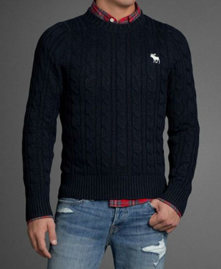 Abercrombie   Fitch Sueter Hombre 07263b88988