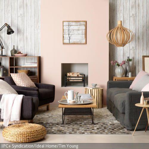 Naturtone Im Wohnzimmer Contemporary Wohnzimmer Romantisches