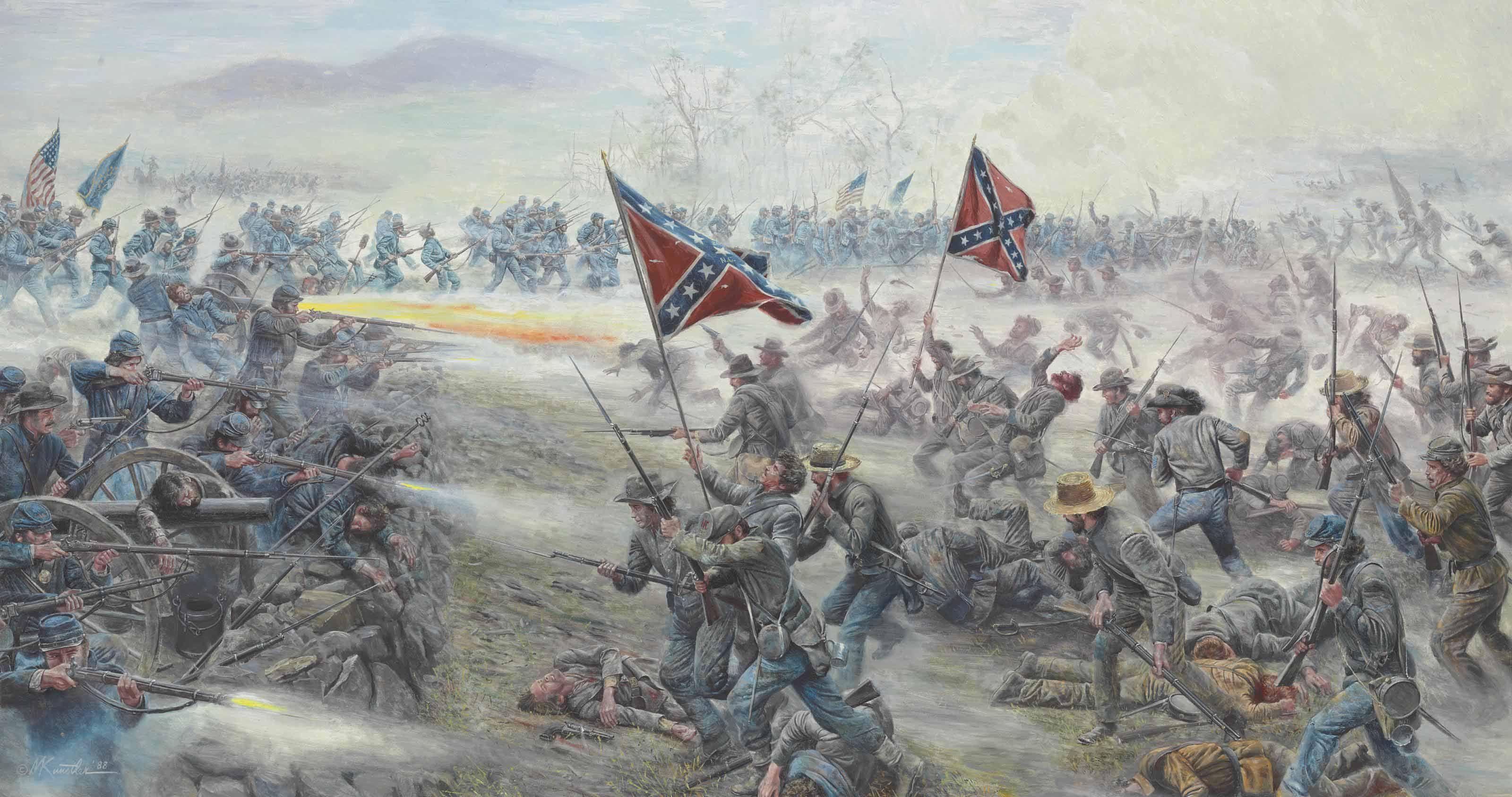 Pin by Aidan on Civil War | Civil war art, Gettysburg