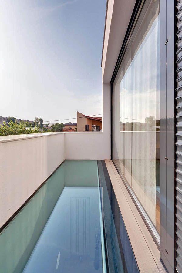 Dach und Boden mit GlaseinsatzEigenschaften und Vorteile