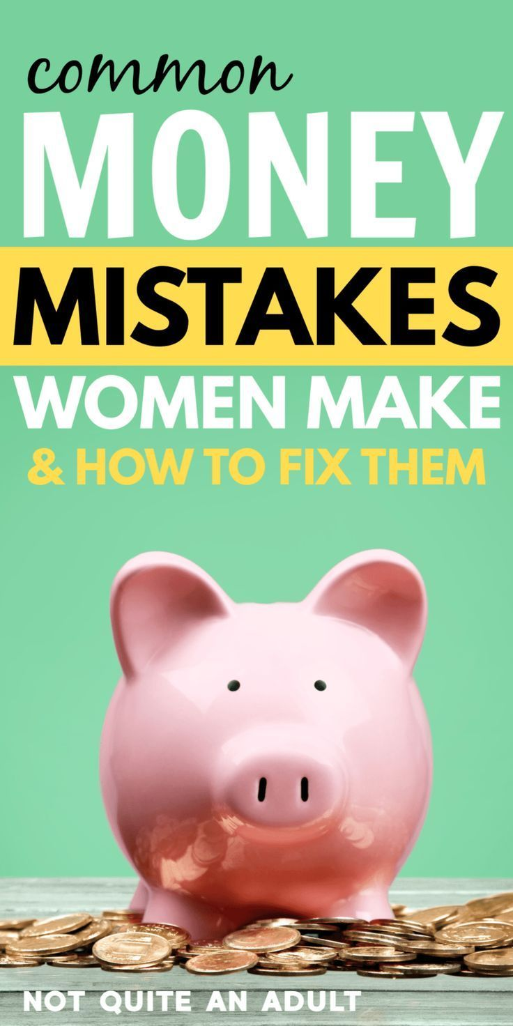 Common Money Mistakes Women Make More Than Men ~ Not Quite an Adult -  common money mistakes many women make   personal finance doesn't just need to be controlled by - #Adult #Common #men #mistakes #Money #PersonalFinanceTips #women