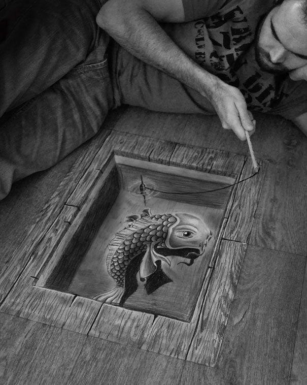 More 3D Pencil Drawings by Ramon Bruin | DeMilked