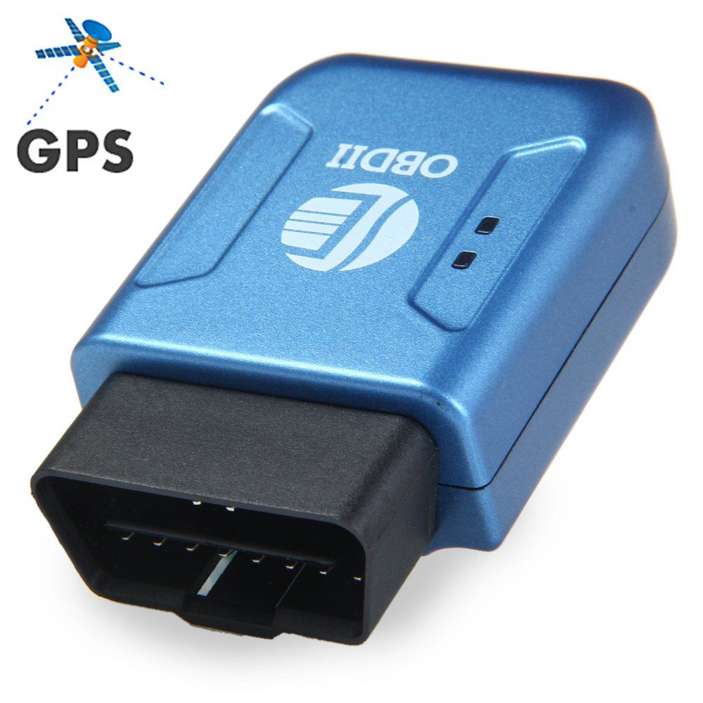 Obdii Gps Tracker Gprs Real Time Tracker Car Vehicle Tracking System With Geofence Protect Vibration Cell
