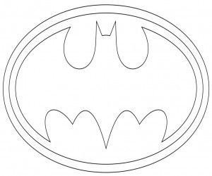 Batman Zeichen Ausmalbilder Ausmalbilder Batman Pinterest