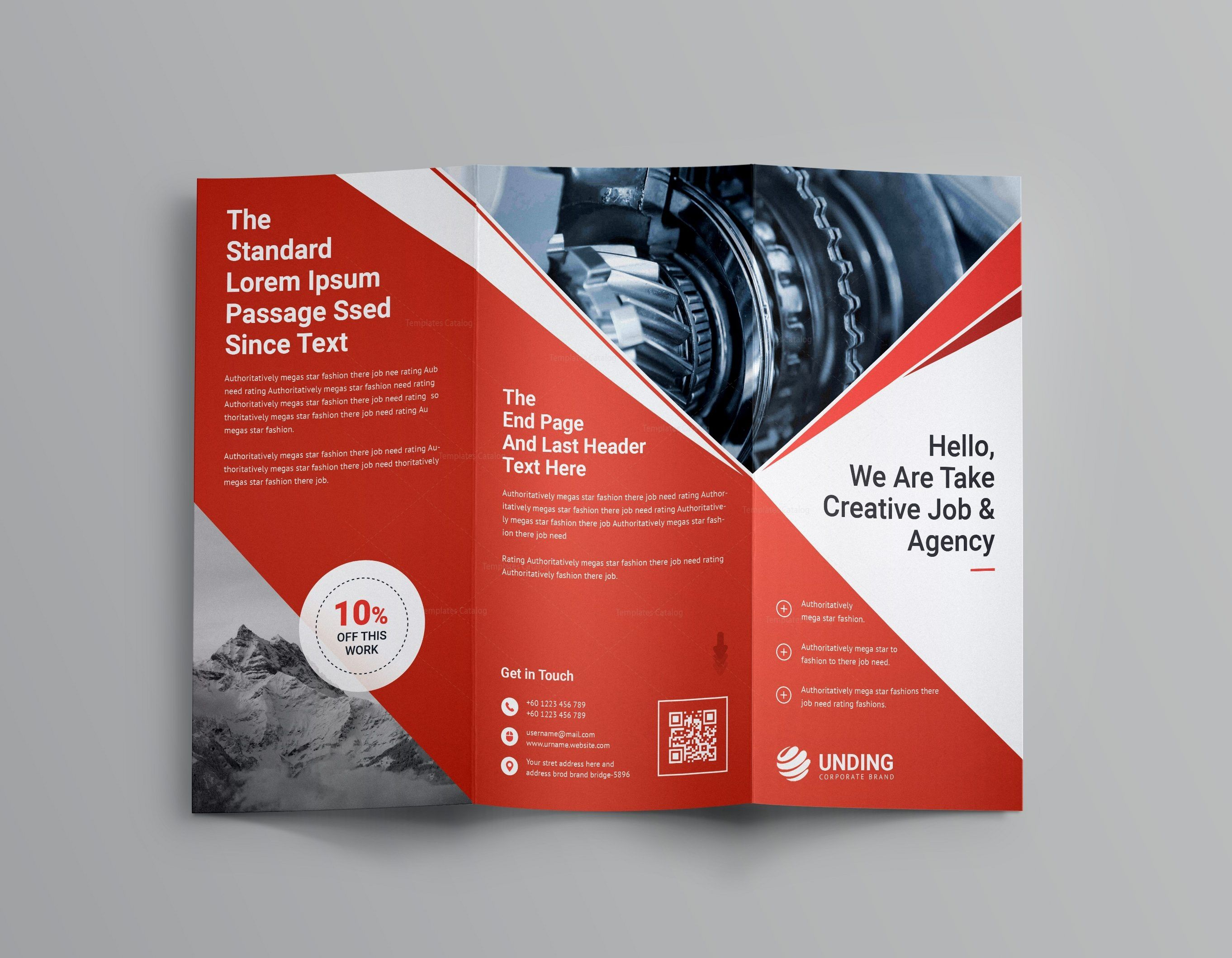 pearl professional tri fold brochure template 001202 brochure