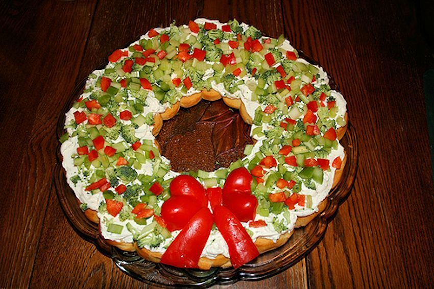 Day 7 Countdown To Christmas Holiday Crescent Vegetable