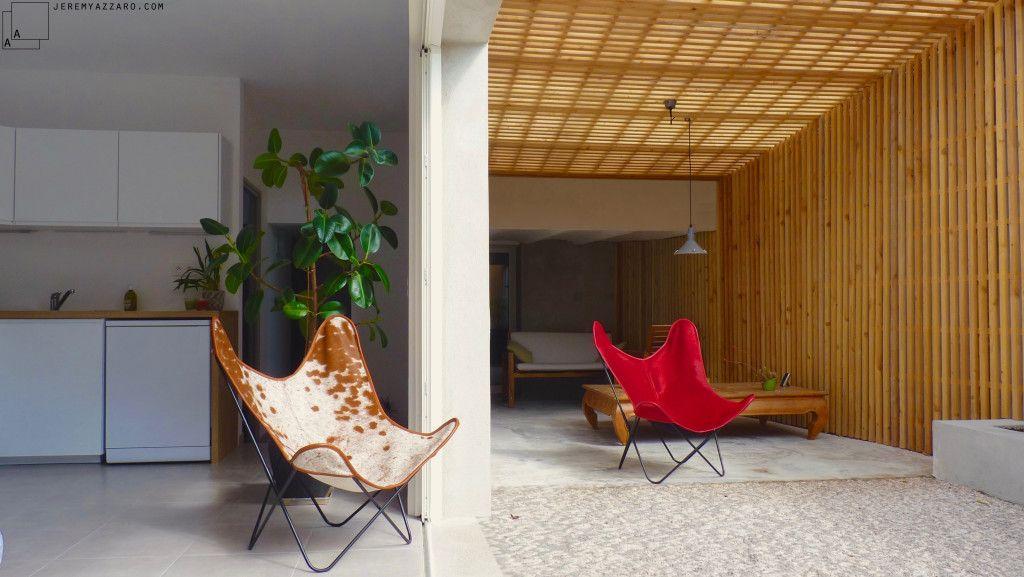 Loft Appartement Terrasse Jardin Et Pergola Contemporaine Partir D