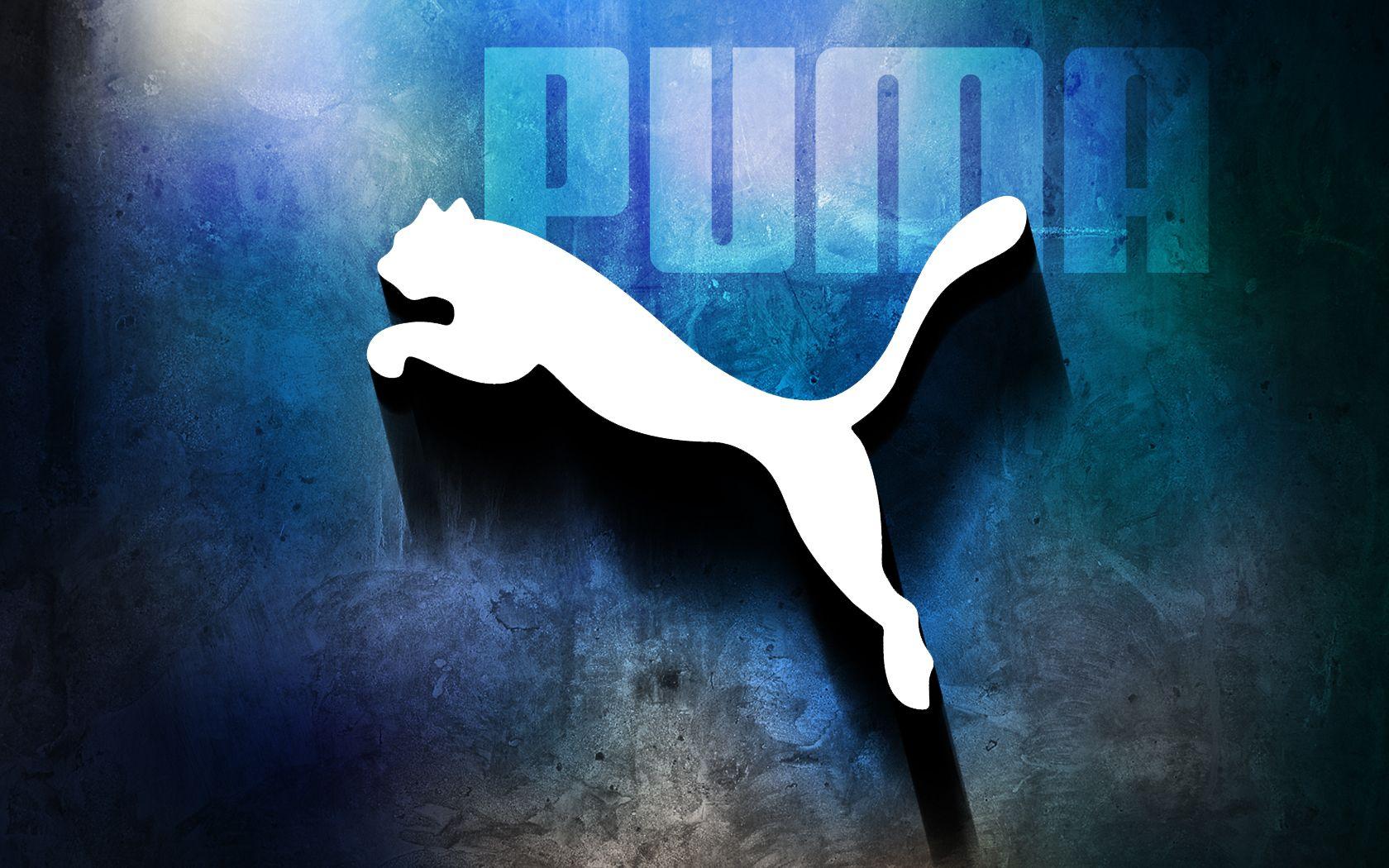 Puma Blue Background Puma wallpaper, Fondos de pantalla