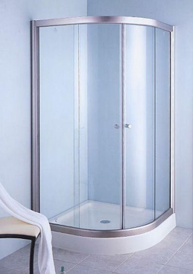 Fotos de mamparas para baños de aluminio21