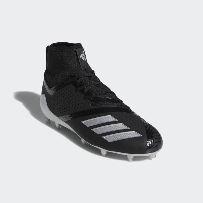 a327e6d5b8 Adizero 5-Star 7.0 Lax Mid Cleats Black 8.5 Mens | Products | Black ...