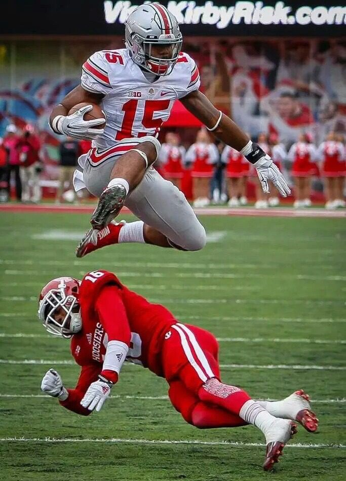 promo code f3e31 47556 Can you tell Zeke ran the hurdles? | Ohio state football ...