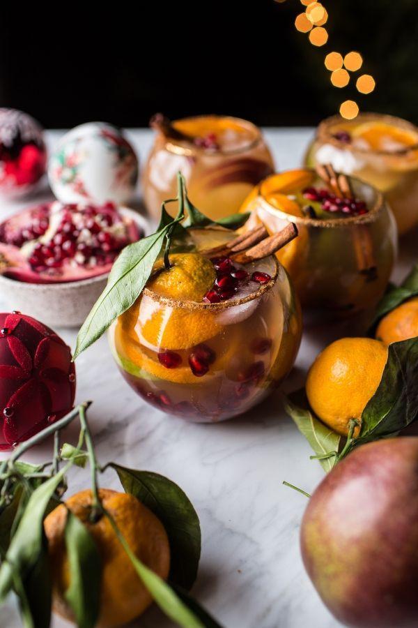 Christmas Sangria | Rezept | Getränke, Herzhaft und Küche
