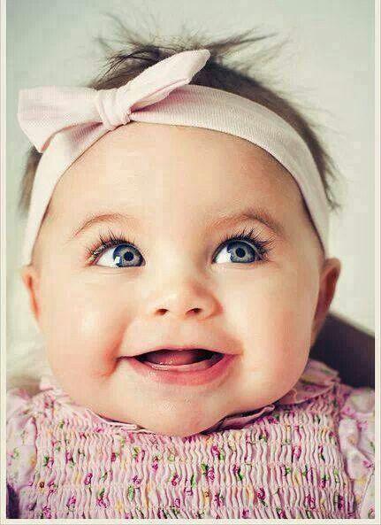 Blinking Blue Eyes Cute Kids Baby Girl Names Little Babies