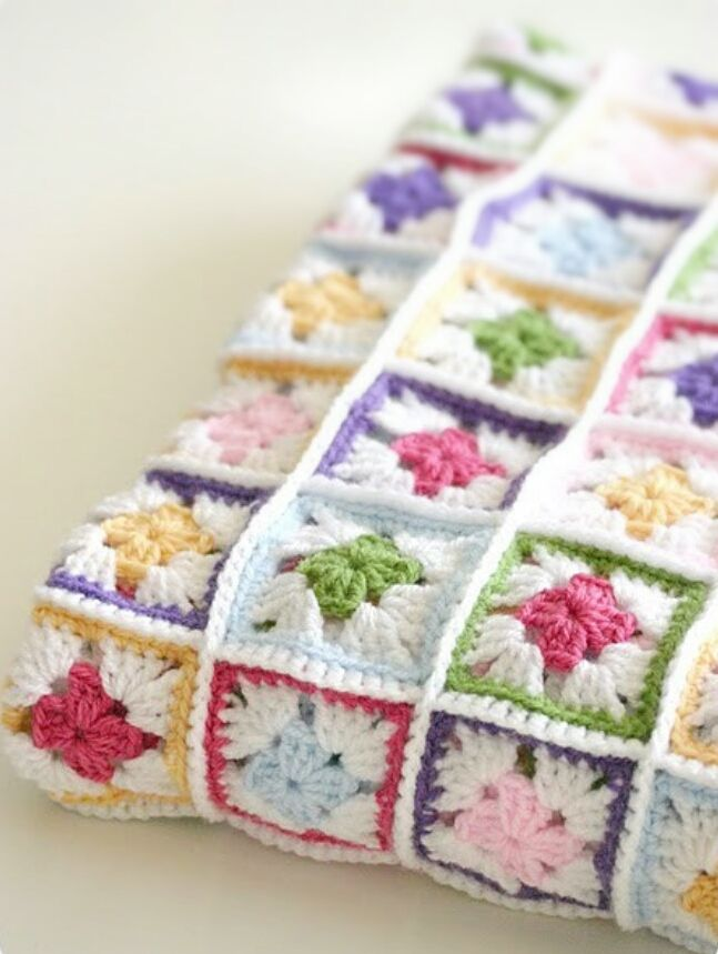 May Crochet Along: Crochet Scrapghan Free Pattern and Video Tutorial ...