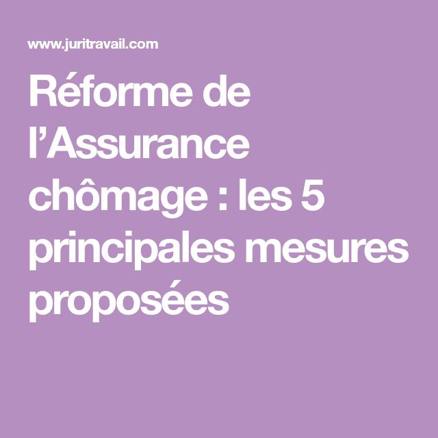 1b446f843ff710 Réforme de l Assurance chômage   les 5 principales mesures proposées ...