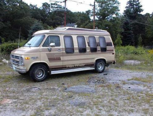For Sale 1985 Chevy Factory Conversion Van