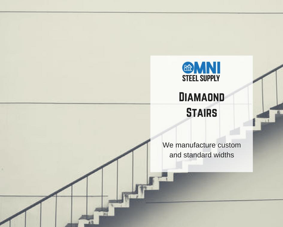 Best Diamond Steps Stairs Steel Supply Steel Distributors 400 x 300