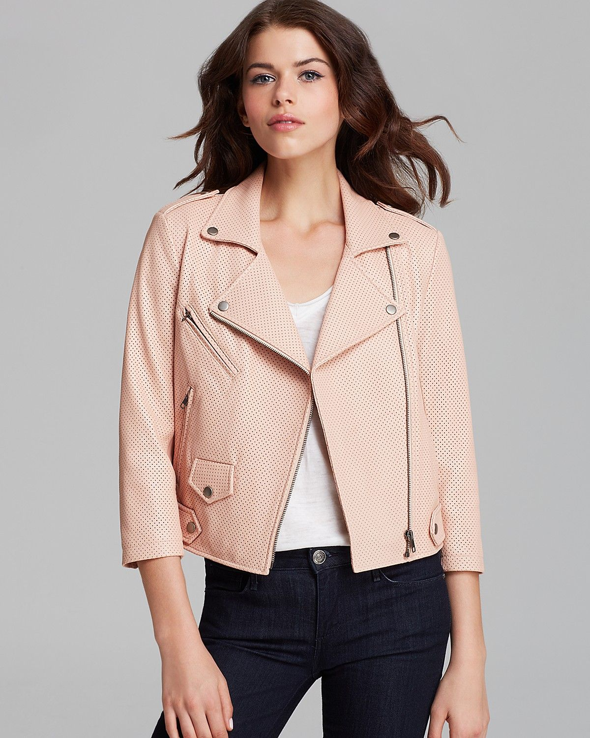 When a black leather jacket just won't do. Rebecca Minkoff Jacket | Chasing Life